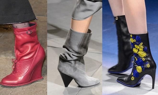 Scarpe donna stivali con tacco o bassi