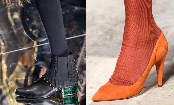 Scarpe invernali calze inverno 2018