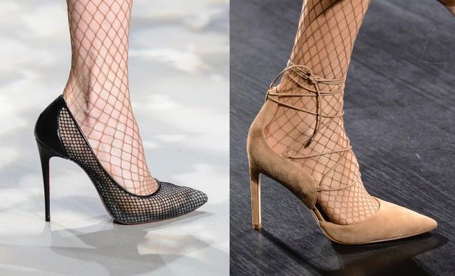 calze a rete scarpe inverno 2017 2018