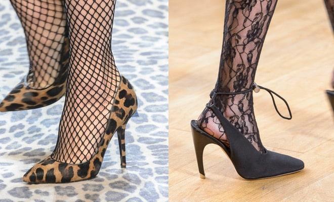 calze scarpe moda inverno 2017 2018