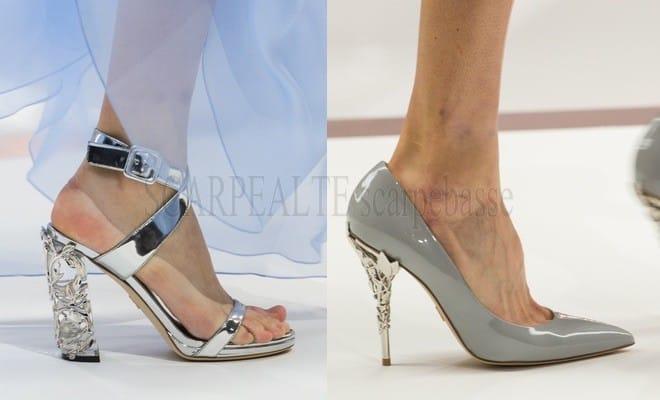 Sfilate Londra Primavera estate 2018 scarpe donna