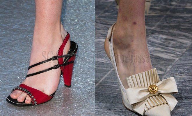 Sfilate Milano scarpe donna primavera estate 2018