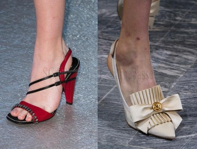 Sfilate Milano scarpe donna primavera estate 2018. Le scarpe moda delle  sfilate di ... 4063e8bd7db