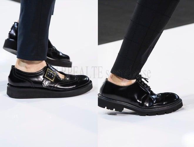 emporio armani scarpe estate 2018