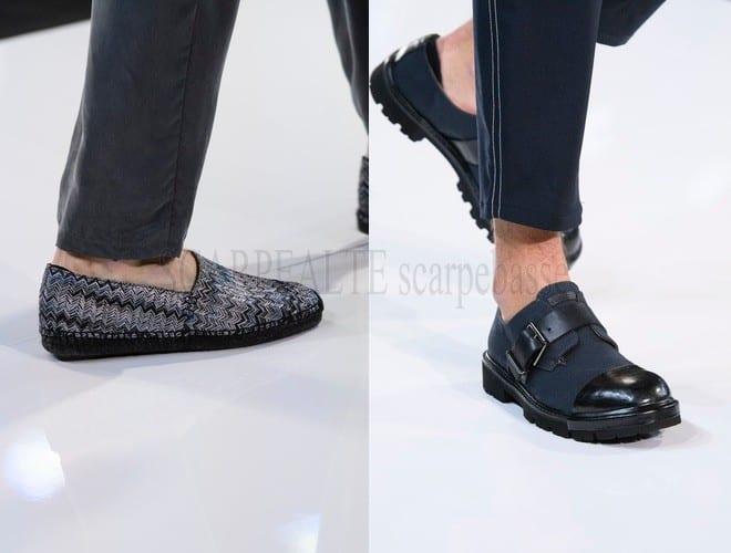 emporio armani scarpe uomo primavera estate 2018