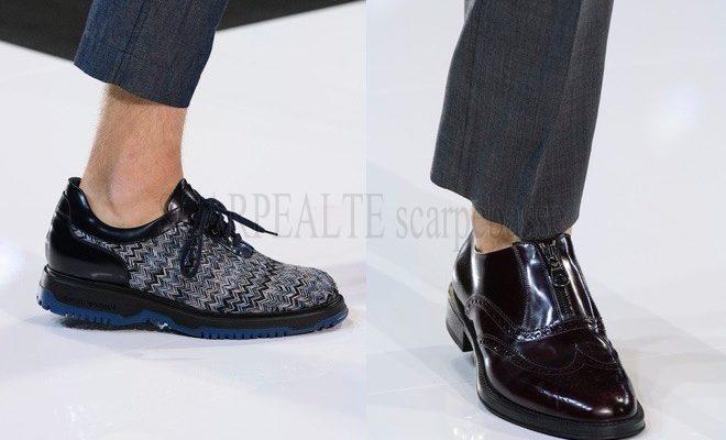 scarpe emporio armani uomo primavera estate 2018
