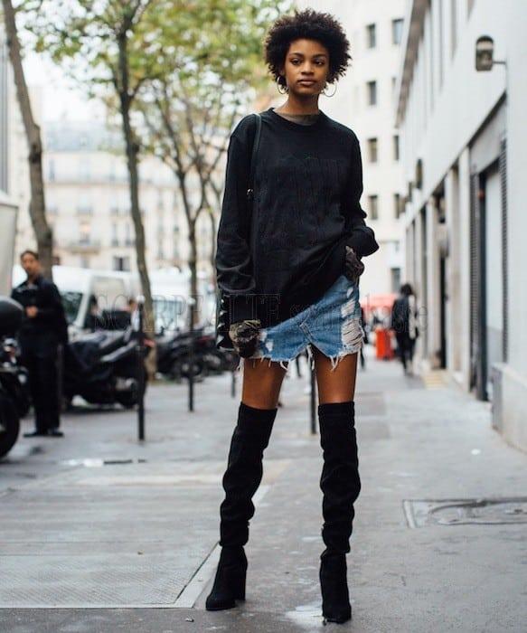 Parigi settembre 2017 cuissardes abbinamenti