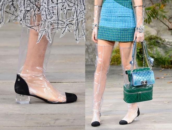 b43edc6c96d4a Scarpe borse Chanel primavera estate 2018. FOTO - Scarpe Alte ...