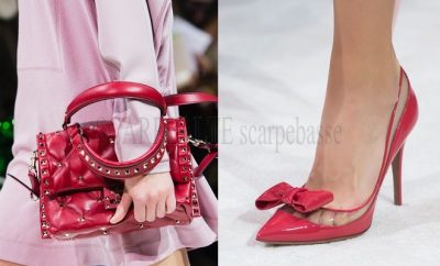 Scarpe borse valentino primavera estate 2018
