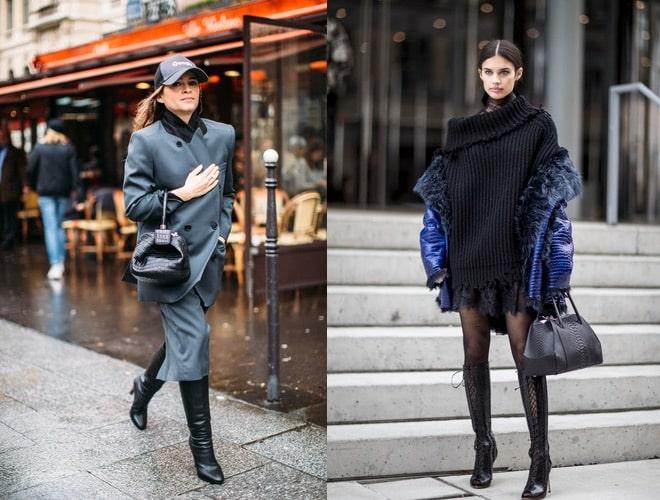 Come abbinare gli stivali neri. 30 idee moda da provare