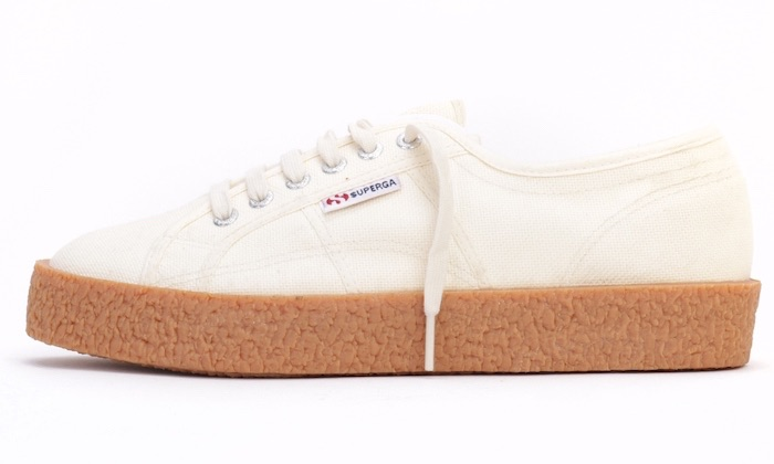 Superga 2750 bianca in tela