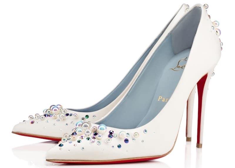 christianlouboutin- scarpe sposa 2018