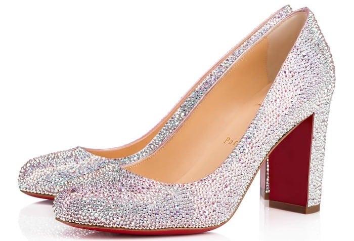 louboutin sposa 2018 scarpe gioiello