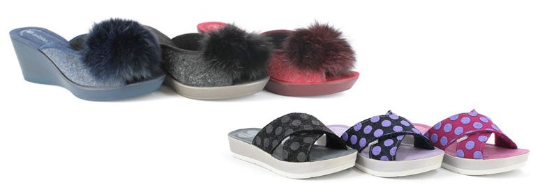 pantofole aperte inverno 2017-2018 Inblu
