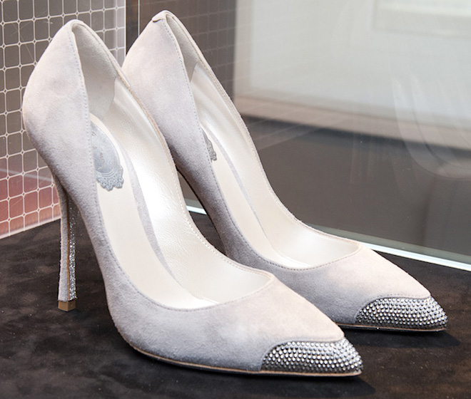 rene-caovilla-scarpe in camoscio