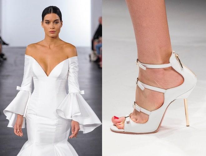 scarpe abiti sposa estate inverno 2018