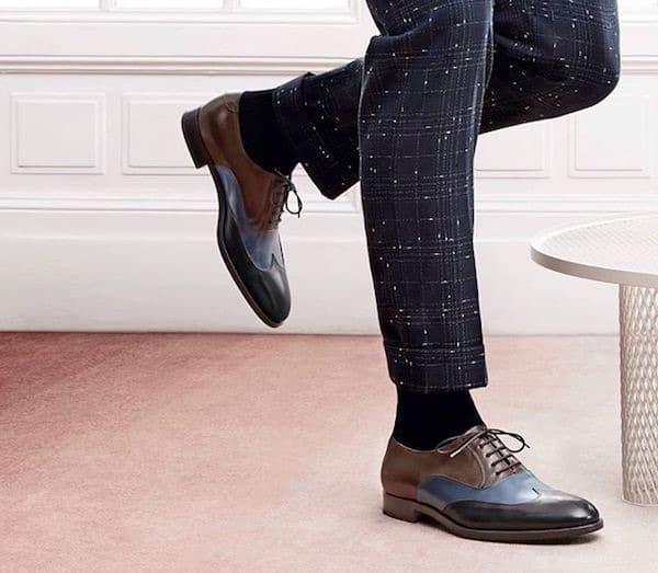 scarpe tre colori uomo fratelli rossetti inverno 2018