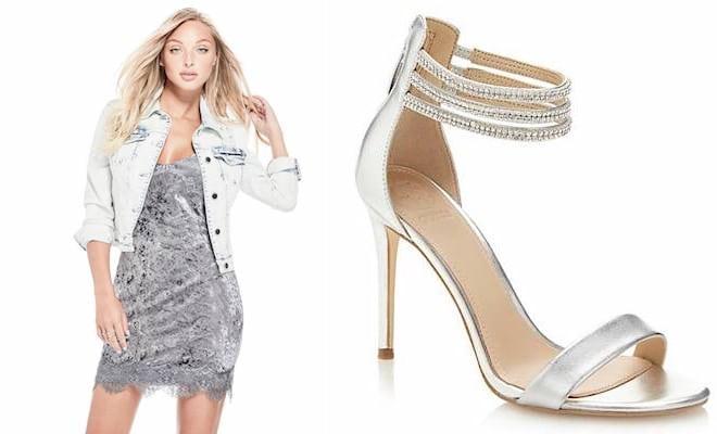 199b6e90f02b Scarpe sandali Guess primavera estate 2018. Foto e prezzi - Scarpe ...