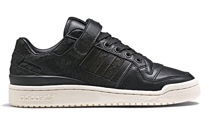 adidas- 2018 forum-low- nere