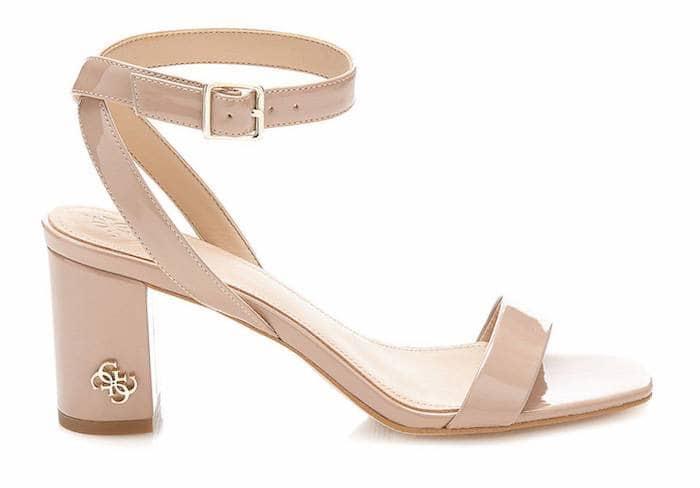 20172018 scarpe speciali Guess NAJYA Sandali Donna nero