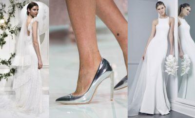 scarpe sposa per l abito bianco