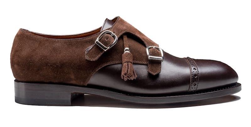scarpe uomo marroni inverno con fibbie