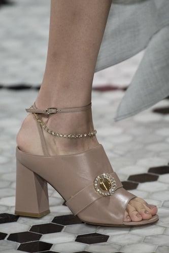 Adeam sandalo gioiello con tacco inverno 2019