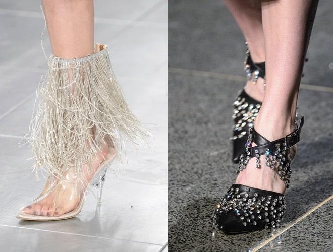 Scarpe che vanno di moda a Londra A-I 2018 2019