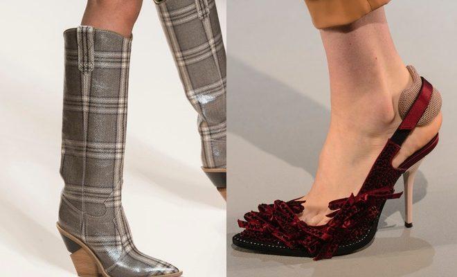 Scarpe moda a Milano inverno 2018-2019