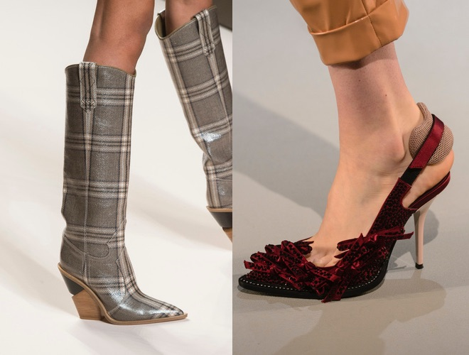 Guarda le foto e scopri direttamente dalle sfilate e presentazioni tutte le scarpe  moda a Milano inverno 2018 – 2019 e i nuovi Top trend. 387c1295507