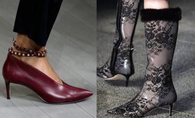 Scarpe moda londra inverno 2018-2019