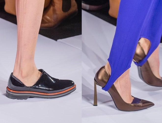 lanvin scarpe moda parigi autunno inverno 2018-2019