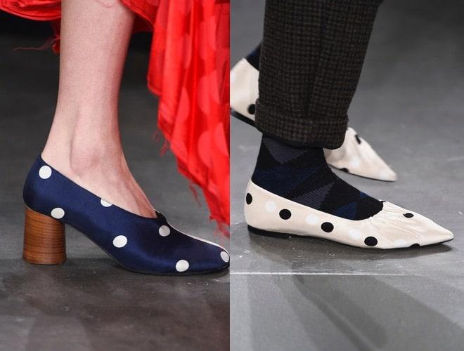 scarpe invernali a pois 2018-2019