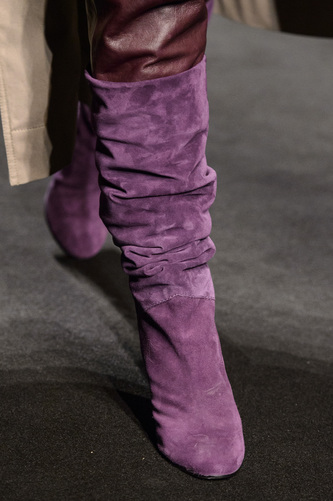 Alberta Ferretti stivali i camoscio inverno 2018