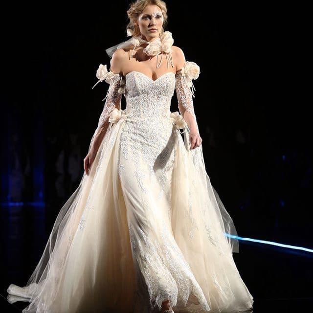 nicole sposa abito 2019