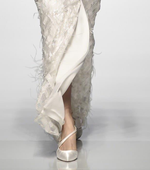 scarpe sposa 2019 bianche
