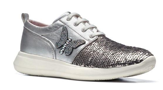 Sneakers metallizzata - Stonefly primavera estate 2018