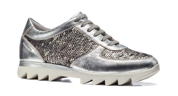 Sneakers in pelle metallizzata - Stonefly catalogo estate 2018