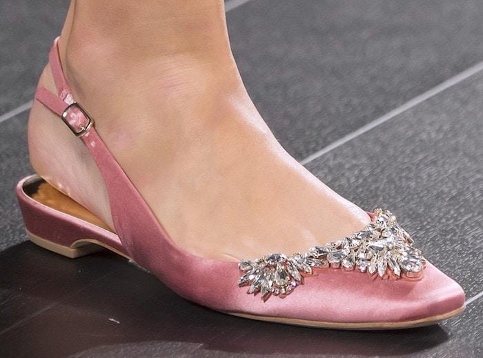 Badgley Mischka scarpe gioiello estate 2018