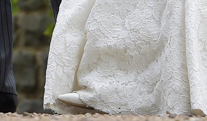 Pippa Middleton scarpe manolo blahnik