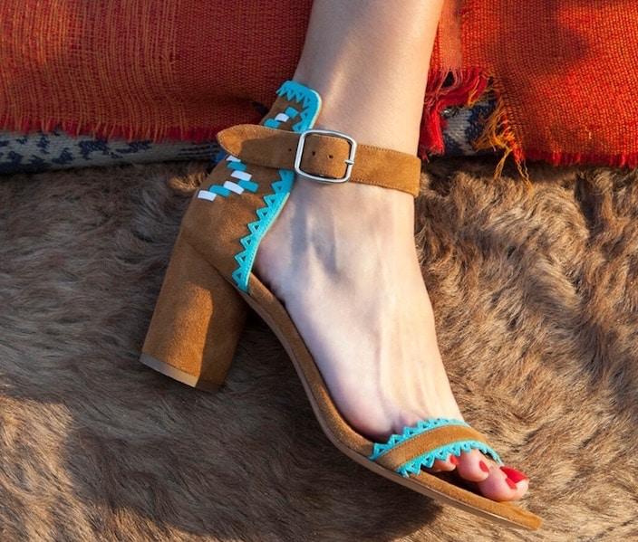 Pura Lopez sandali donna estate 2018