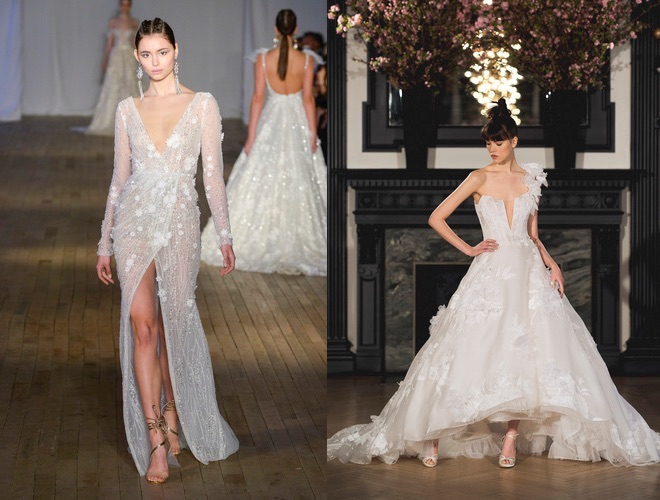 abiti da sposa 2019 New York Bridal Week