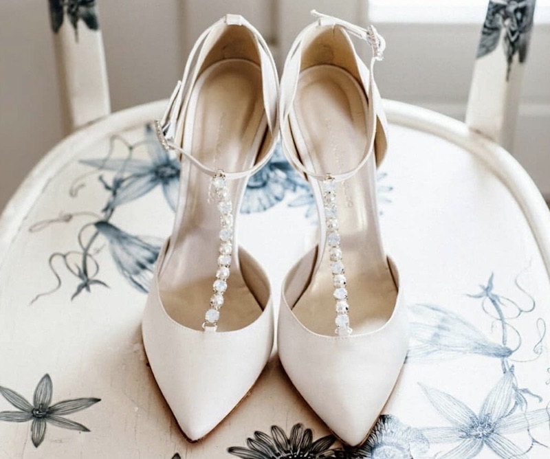 24b7ae3bf1 Le scarpe da sposa del 2019: i modelli migliori da abbinare all ...