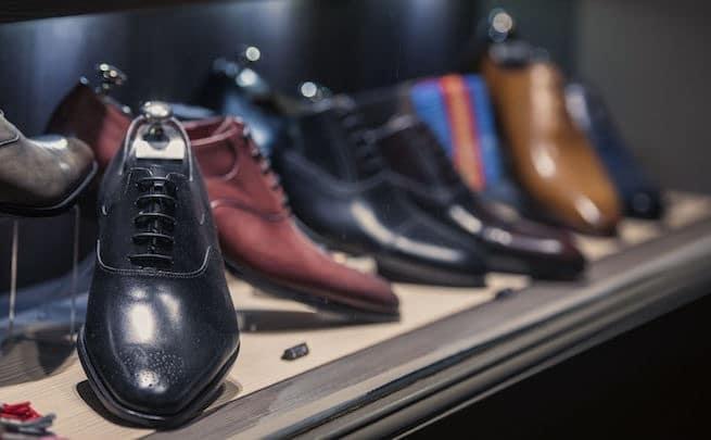 negozio scarpe uomo parigi