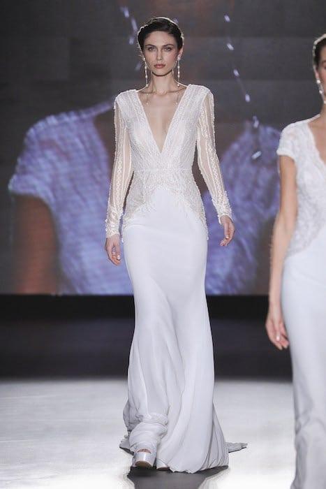 rosa-clara abito da sposa a sirena 2019