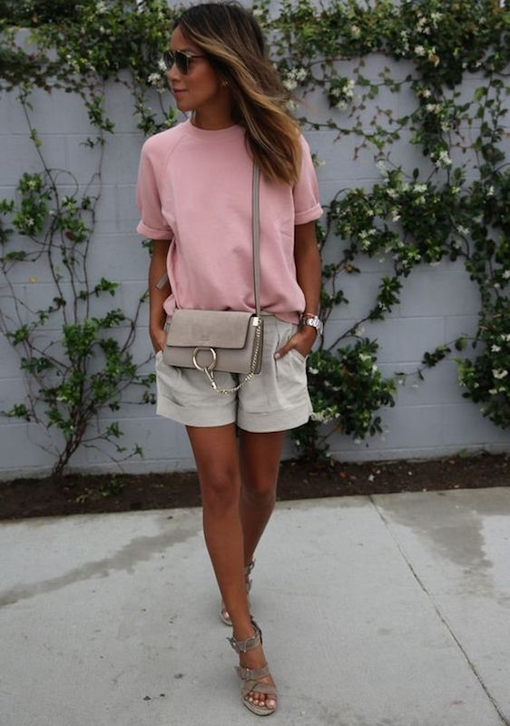 zeppa shorts abbinamento