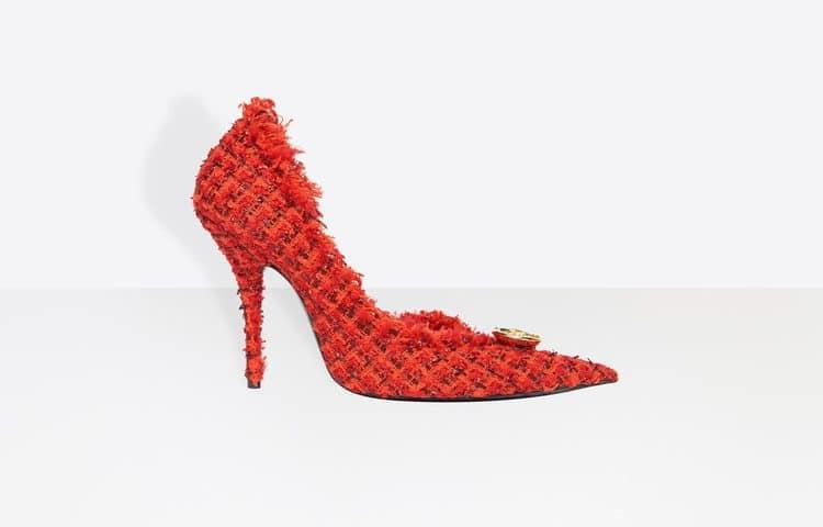 Balenciaga sandalo con tacco donna 2018