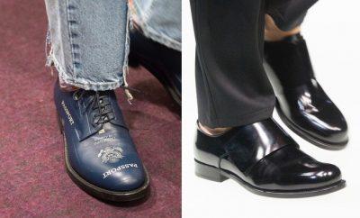 Scarpe alla moda uomo