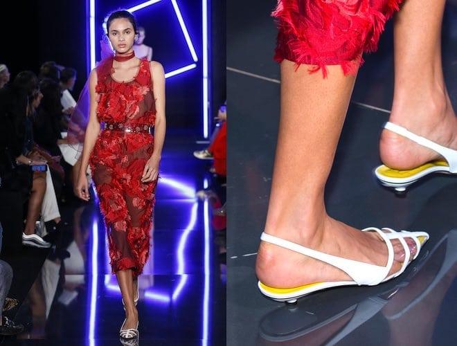 Ungaro scarpe abito estate 2018