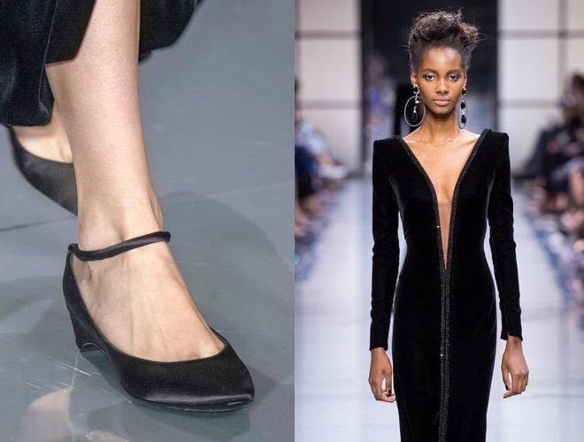 armani alta moda inverno-scarpe abito nero